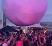 Interactive Ball at MONA FOMA festival in Tasmania