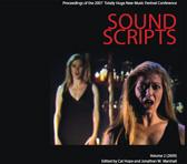 Cover of Sound Scripts, vol. 2 (Australian Music Centre, 2009)