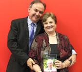 Gwen Bennett with John Davis, CEO Australian Music Centre