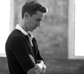 Gareth Belling in rehearsal