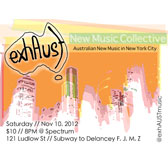 ExhAust adds Australian voices to the NY mix