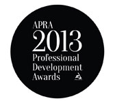 2013 APRA Professional Development Awards - submission deadline 21 January