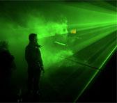 Robin Fox's <em>Laser Show</em> at Sonica